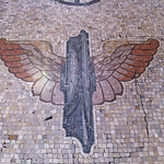 winged fasces, Milan Centran Station